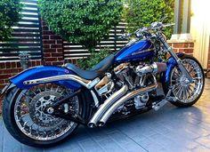 harley davidson breakout aftermarket parts Harley Davidson Breakout Custom, Harley Davidson Pictures, Harley Davidson Trike, Harley Davidson Street, Custom Harleys, Custom Bikes, Custom Motorcycles, Vintage Motorcycles, Motos Honda