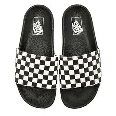 Vans Slide On ($30) ❤ liked on Polyvore featuring men's fashion, men's shoes, men's sandals, sandals, vans mens shoes, mens slip on shoes, mens slip on sandals and mens slipon shoes