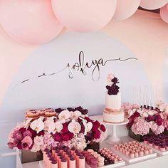 @styled_by_coco @mylittlecompanyphotography @aschajolie @kissmycakesaustralia @belleballoons  #baby #babygirl #baptism #christening #babypink #blush #maroon #pinkhues #flowers #floral #art #style #eventstyling #wedding #bridal #bridalshower #bridetobe #weddingpaperchic
