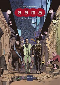"""Livro """"Aâma - Volume 1"""", de Frederik Peeters"""
