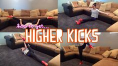 how to get high kicks fast *ankle weights*