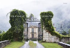 What is your dream photography job?… Check out this shoot I did for Harpers Bazaar of Chateau Gudanes.. it's one of mine..