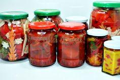 Gogosari marinati cu ceapa Celery, Gin, Pickles, Salsa, Mason Jars, Canning, Food, Salsa Music, Meal