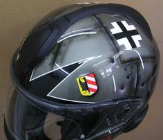 Moto Helmet Art Design #162 ~ Hand Painted Helmets - Design your own today..!!