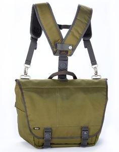 Hauler Hybrid™ Messenger Backpack    BBP Ergonomic Backpacks    #vegan