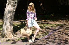 #jenknowsbest #jenandrews #plaid #prints @Madewell #espadrilles #chanel #bag #celine #streetstyle #style #blog #blogger #fashionblogger www.jenknowsbest.com
