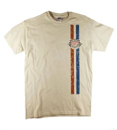 8dcffbfef33a Tag Heuer McQueen Racing Classic Le Mans Vintage Porsche Print Natural T- shirt All sizes