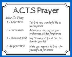 The Basic Forms of Prayer   Catholic Infographic   Face Forward ...