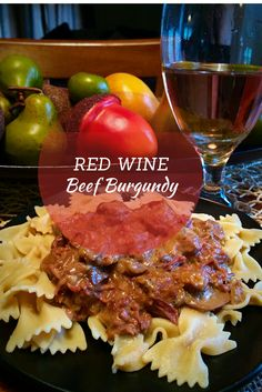 Delicious, mouth-watering red wine crock-pot recipe