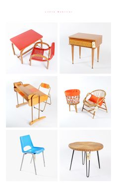 vintage inspired furniture for kids (swoon!)