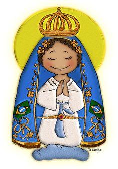 O Brasil tem Mãe? Tem sim senhor... Nossa Senhora da Conceição Aparecida!   Amigos do Céu