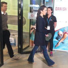 Mary as patron of Danish swiming 15 April 2016