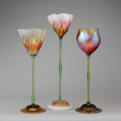 Favrile glass - Designed by Louis Comfort Tiffany  (American, New York 1848–1933 New York)