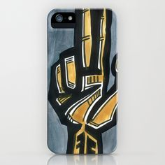 Weapon iPhone & iPod Case by Sean Martorana - $35.00
