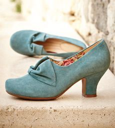 """Best seller! 1940s style shoes """"Donna"""" by Hotter. USA and UK shippping. Multiple colors and widths! http://www.vintagedancer.com/1940s/1940s-womens-shoes/ would be beautiful with the wedding colors! and complete the vintage bridesmaid ensemble! with <3 from JDzigner www.jdzigner.com"""