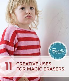 11 ways to use Magic Erasers that you may not know about