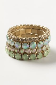 Fash-Anthropologie-Iced-Dew-Bracelet-Set-mint.jpg (1450×2175)