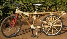 The Story of a Hemp Bicycle and a Bamboo Bike Bus : TreeHugger