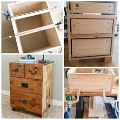 Katie at @addicted2diy used her @KregJig and Kreg® Clamps to create this lovely nightstand. Get the FREE plans and tutorial on her blog: Addicted2DIY.com