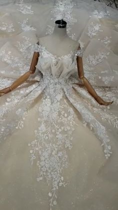 154 romantic bridal gowns perfect for any love story page 18 Disney Wedding Dresses, White Wedding Gowns, Blue Wedding Dresses, Gorgeous Wedding Dress, Bridal Dresses, Reception Dresses, Gown Wedding, Wedding Dress Sketches, Most Beautiful Dresses