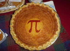 "How to Remember Pi to 15 Digits:::::: By way of sci-fi author and mathenaut Rudy Rucker's Facebook wall comes this:    One way to remember the first few digits of pi is to count the letters in the words of this phrase:    ""How I need a drink, alcoholic of course, after the heavy lectures involving quantum mechanics."""