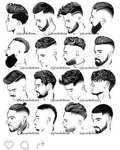 #BARBERING Pinterest - @houstonsoho | Hairstyles for Thick Hair Men