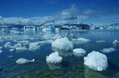 Island Jökulsárlon Gletschersee, Gletscher, See, Eisberge, Iceland, Glacier, Lake