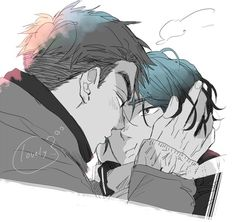 Find images and videos about yuri on ice, lee seung gil and jean jacques leroy on We Heart It - the app to get lost in what you love. ユーリ!!! On Ice, Ice Ice Baby, Manga Characters, Yuri On Ice, Haikyuu, Find Image, Fantasy Art, Anime Art, Character Design
