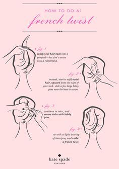 #dresscolorfully the easiest 4-steps to an iconically sophisticated 'do