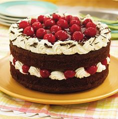 Today we are celebrating National Black Forest Cake Day and we have to admit, it's our favorite kind of Monday - the sweet kind! A traditional German #cake , the Schwarzwald Kirsch Kuchen, is an amazing blend of #chocolate and #cherries - preferably fresh ones, if you can find them.