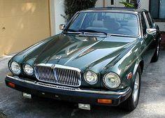 "Jaguar XJ6 Series III (US version) with Euro 7"" headlight upgrade"