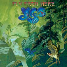 Awesome album cover by Roger Dean for upcoming Yes album