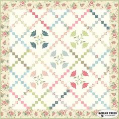Amelia - Tulip Bouquet Free Quilt Pattern by Riley Blake Designs