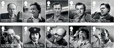 Remarkable Lives Complete set of stamps