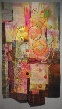 Art With a Needle: Quilt National 7 -- hand stitching