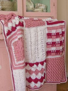 Free Crochet Pattern Download -- This Season One Crochet Afghan is featured in episode 13, season 1 of Knit and Crochet Now! TV. Learn more here: https://www.anniescatalog.com/knitandcrochetnow/patterns/detail.html?pattern_id=158&series=2