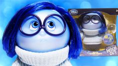 Disney Pixar Inside Out Deluxe Talking Sadness Doll with a Memory Ball Inside Out Toys, Inside Out Emotions, Rainbow Toys, Sadness, Disney Pixar, Memories, Dolls, Tv, Videos