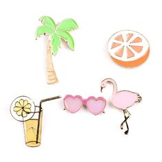 Summer Love Brooch