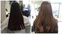 #nofilter Porque nem só de ice blondes vive o Olaplex, mostramos aqui um trabalho de cor super natural ('Totally Gorgeous') onde usámos Olaplex para conservar e melhorar a condição do cabelo da cliente.  #OLAPLEX #olaplexportugal #transformation #natural #totallygorgeous #balayge #beautiful #slash #hair #salon #lisbon