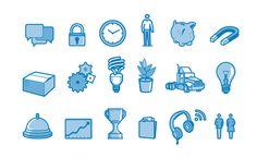 IBM icons on the Behance Network - via http://bit.ly/epinner