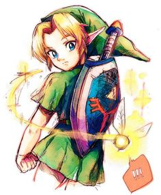 Young Link by えぬ夫 @DJ_NO114514