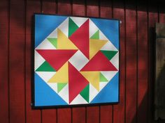 "Barn quilt for my shed!!!  ""Barn Quilts by Dave"""