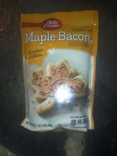 Maple bacon cookies limited edition
