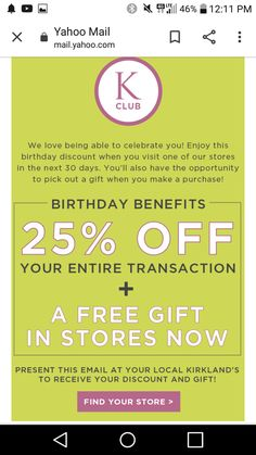 Birthday Rewards, Birthday Freebies, It's Your Birthday, Get Free Stuff, Coupons, Amazing, Gifts, Presents, Coupon