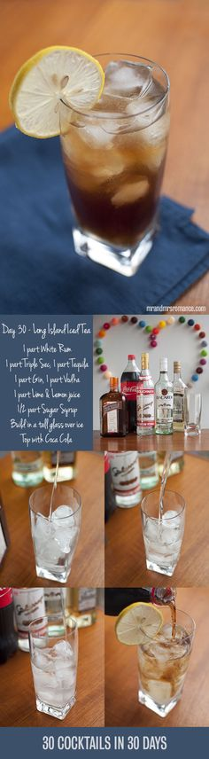 30 Cocktails in 30 Days – Day 30: the Long Island Iced Tea