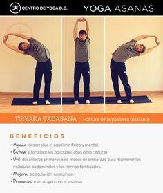 TIRYAKA TADASANA · Beneficios de la práctica de Yoga | Postura de la Palmera Oscilante por Diego Cano