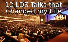 "12 LDS Talks that Changed my Life - I would add three more:  the first two by Jeffrey R. Holland ""He Hath Filled the Hungry With Good Things"" and ""Lord, I Believe.""  The other is Dieter F. Uchtdorf's ""You Are My Hands.""  10/5/13 - MUST add Dieter F. Uchtdorf's ""Come, Join Us"" - an answer to my prayers."