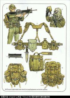 vietnam war equipment - Cerca con Google