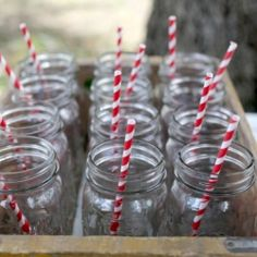 Cute idea for a country wedding!