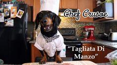 """Chef Crusoe Follows Recipe by Gino D'Acampo for """"Tagliata di Manzo""""!"""